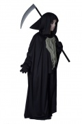 The Grim Reaper Halloween costume for children.