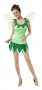 Green fairy costume for girls.