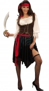 Pirate costume for women