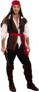 Pirate costume for men.