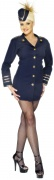 Sexy stewardess costume for women
