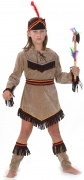 Red Indian costume for girls.