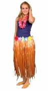 Orangefarbener Hawaii-Rock f�r Erwachsene