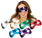 Metalic masquerade mask for adults