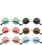 Hippiebrille rund f�r Erwachsene