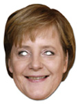 Angela Merkel mask