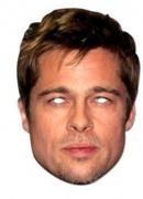 Brad Pitt mask