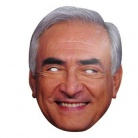 Strauss Kahn mask