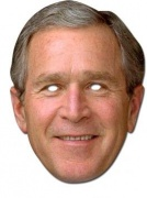 George Bush mask