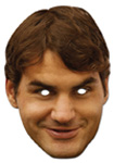 Roger Federer mask