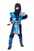 D�guisement ninja bleu gar�on