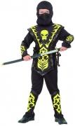Disfraz amarillo de ninja para ni�o