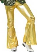 Pantal�n disco dorado