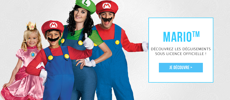 Grossiste déguisements Super Mario