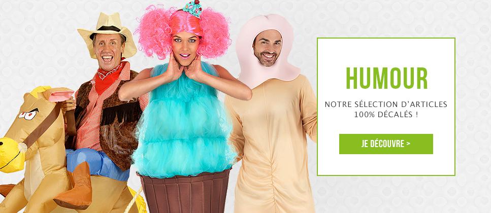 Articles de fête et déguisements humoristiques