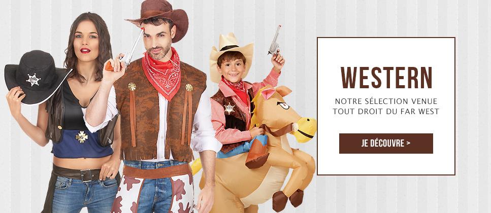 Costumes et déguisements western