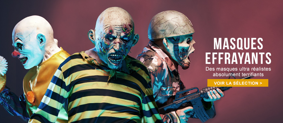 Masques terrifiants