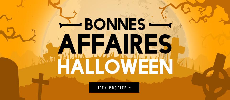Bonnes affaires Halloween