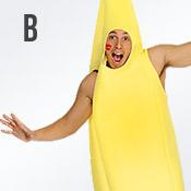 Carnavalskleding met letter B