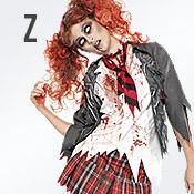 Carnavalskleding met letter Z