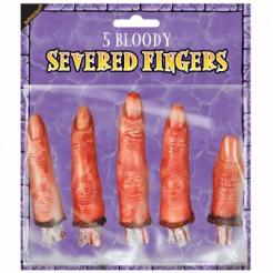 5 Faux doigts Halloween