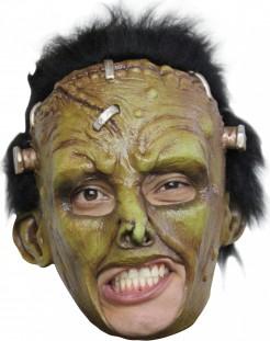 Masque créature Frankenstein verte adulte Halloween
