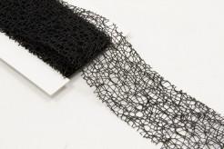 Ruban fantaisie noir 4 cm x 3 m