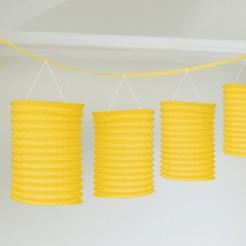 Guirlande lanterne jaune