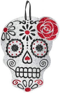 Crâne Pailleté Halloween