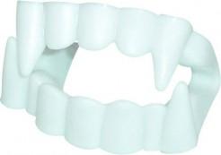 Dentier du vampire grandes dents Halloween