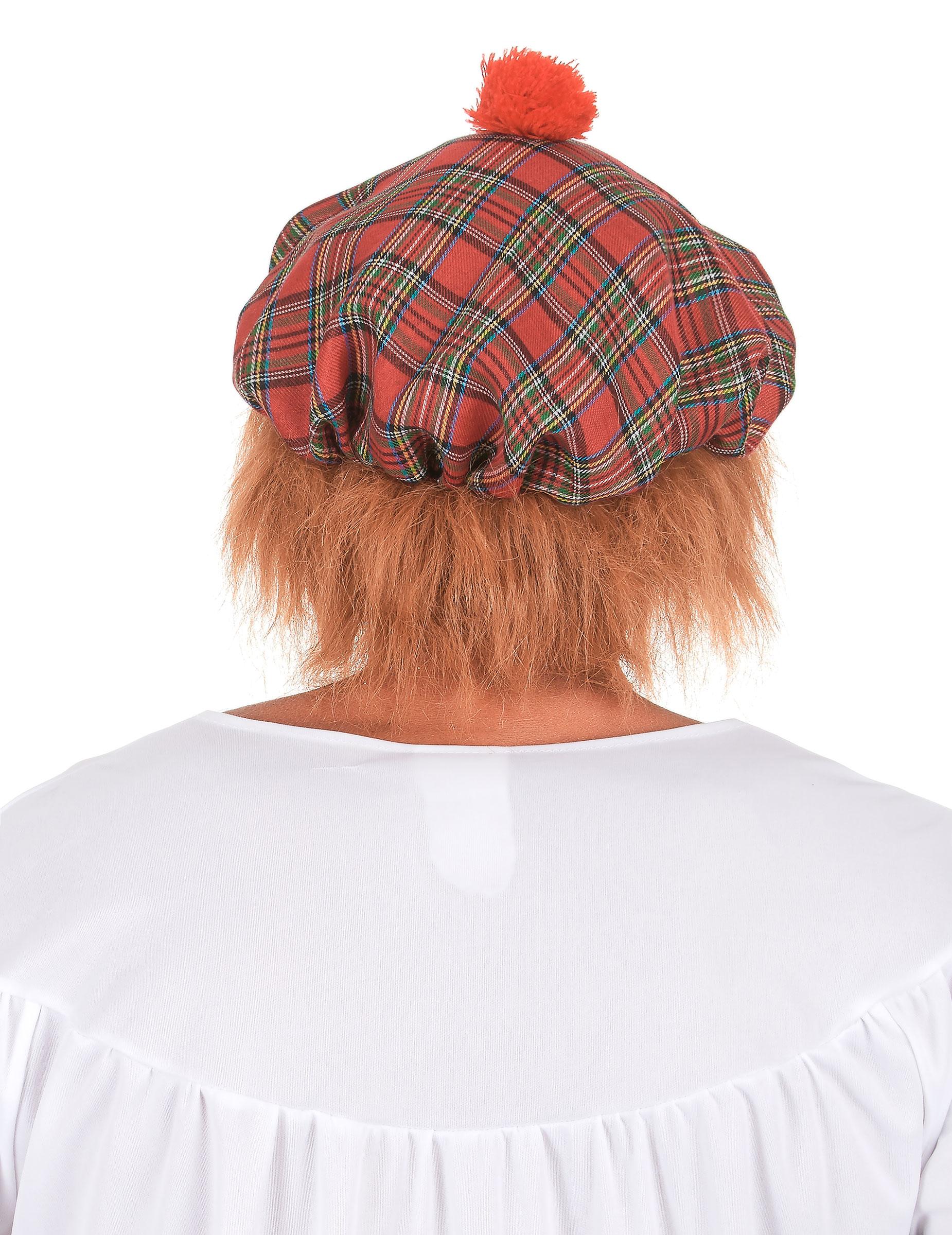 Béret écossais adulte   Deguise-toi, achat de Chapeaux b70586448b0