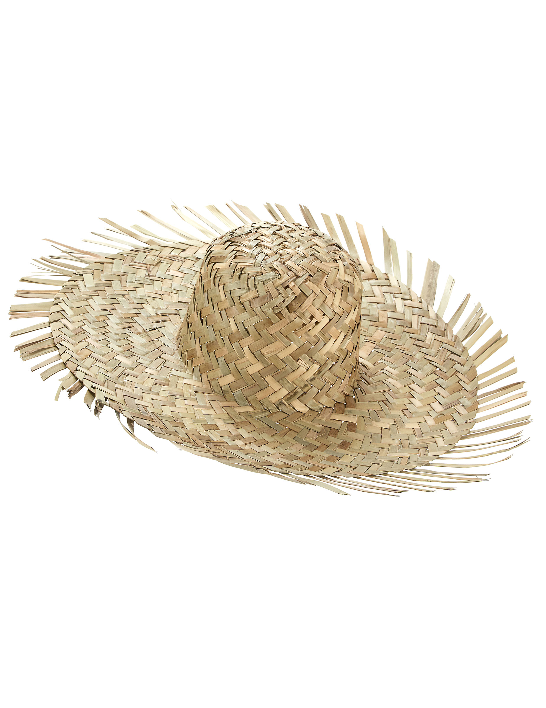 Chapeau de paille Hawaï adulte   Deguise-toi, achat de Chapeaux bcf526319a6