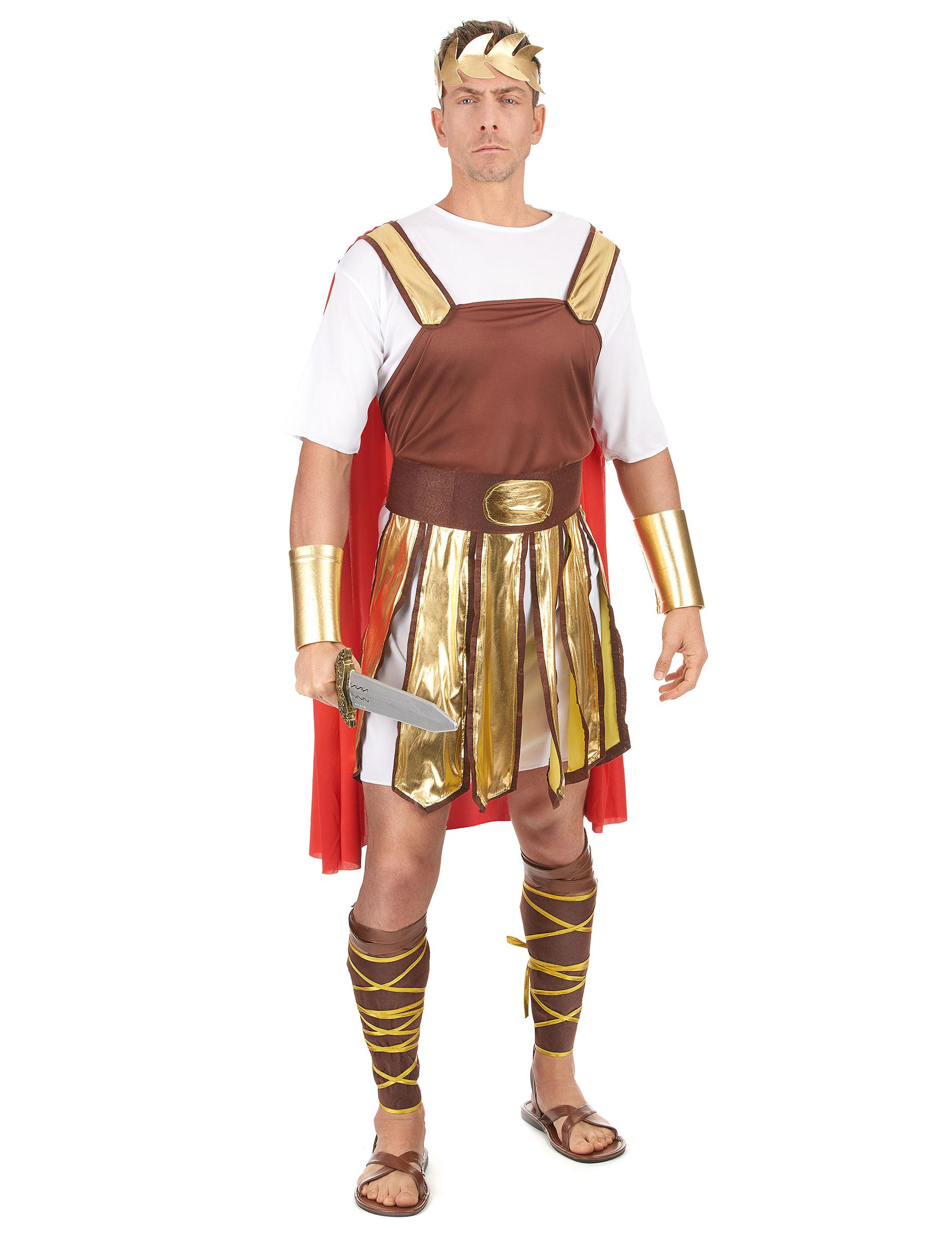 fa272196fa38 Déguisement gladiateur romain cape rouge homme   Deguise-toi, achat ...