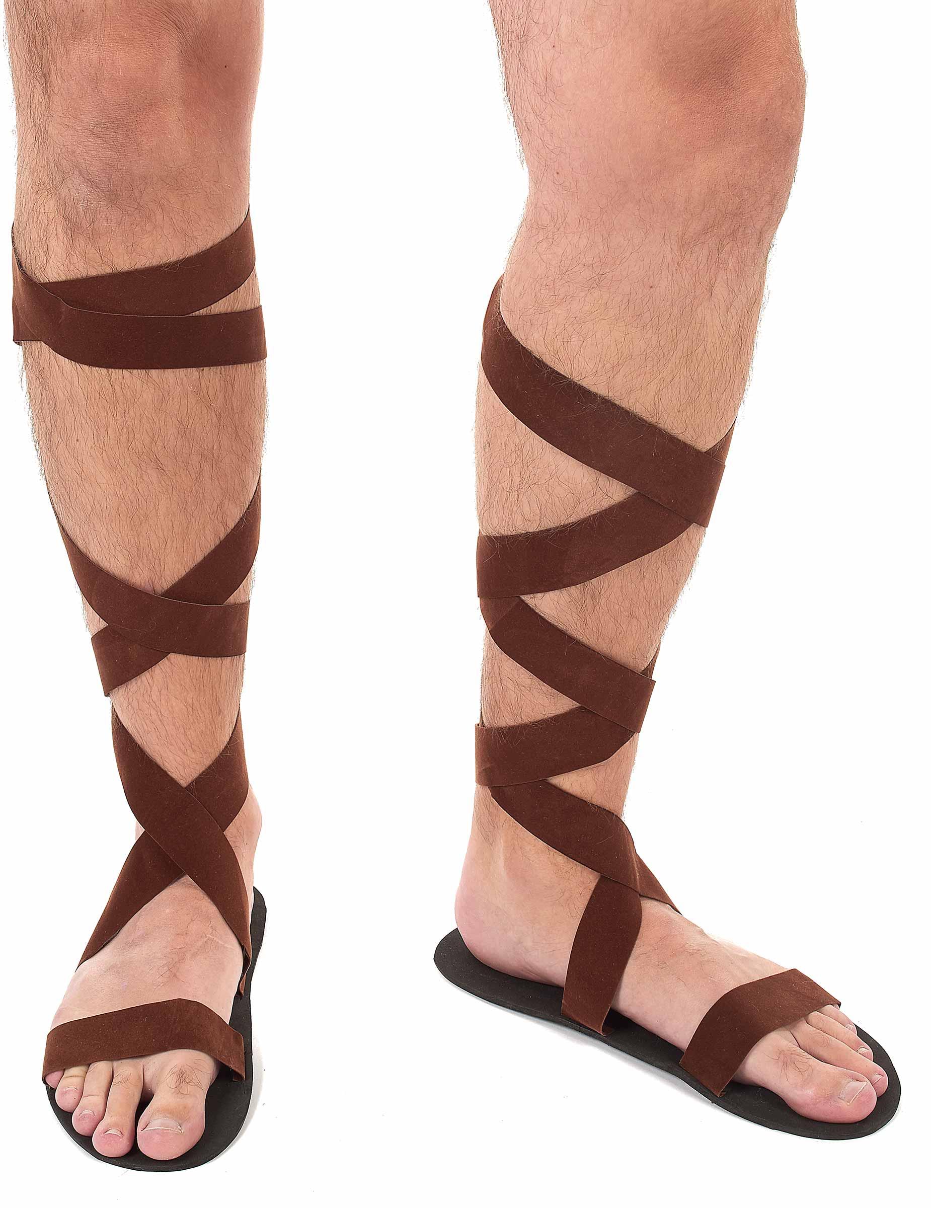 724e5f4f49778 Sandales romaines adulte   Deguise-toi, achat de Accessoires