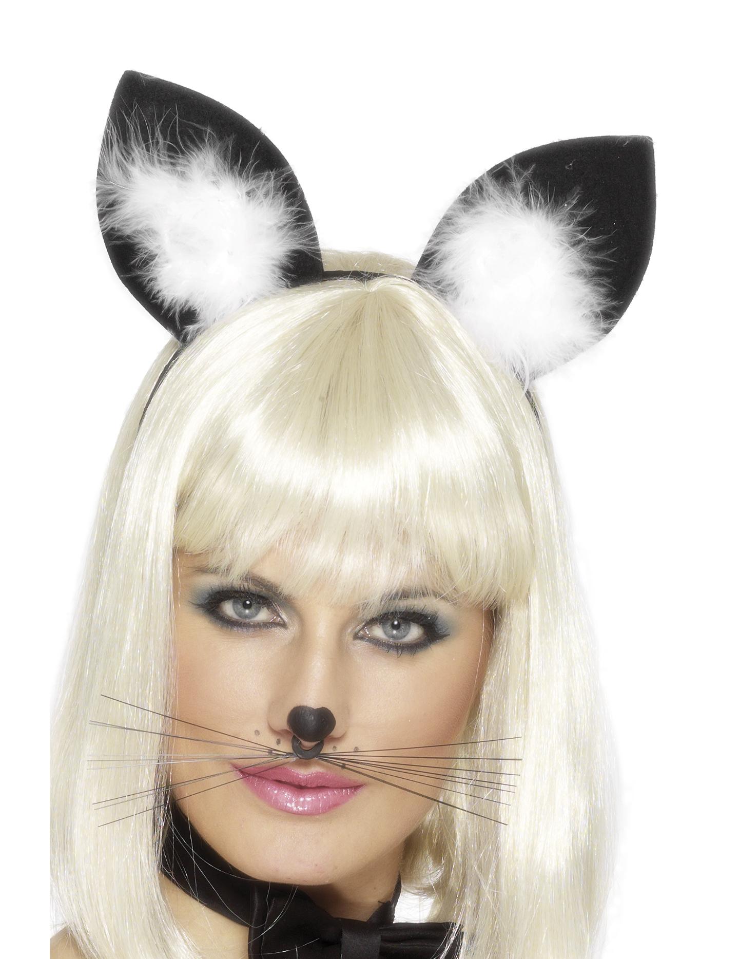 oreilles de chat femme deguise toi achat de accessoires. Black Bedroom Furniture Sets. Home Design Ideas
