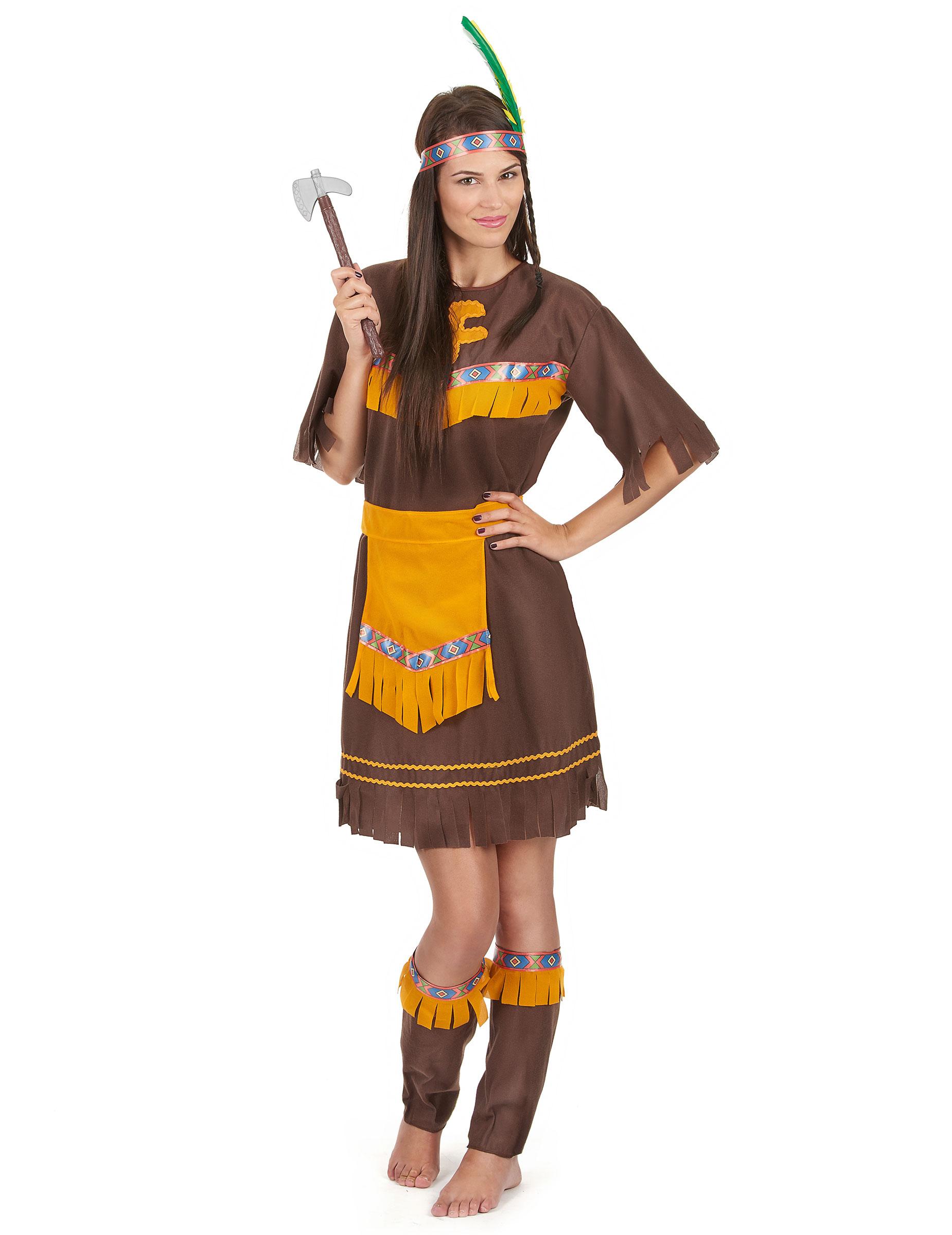 fe511ad95355 Déguisement indienne ceintrée femme   Deguise-toi, achat de ...
