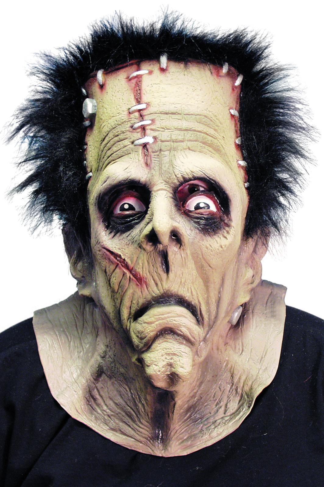 Masque latex de frankenstein adulte halloween - Masque halloween qui fait peur ...