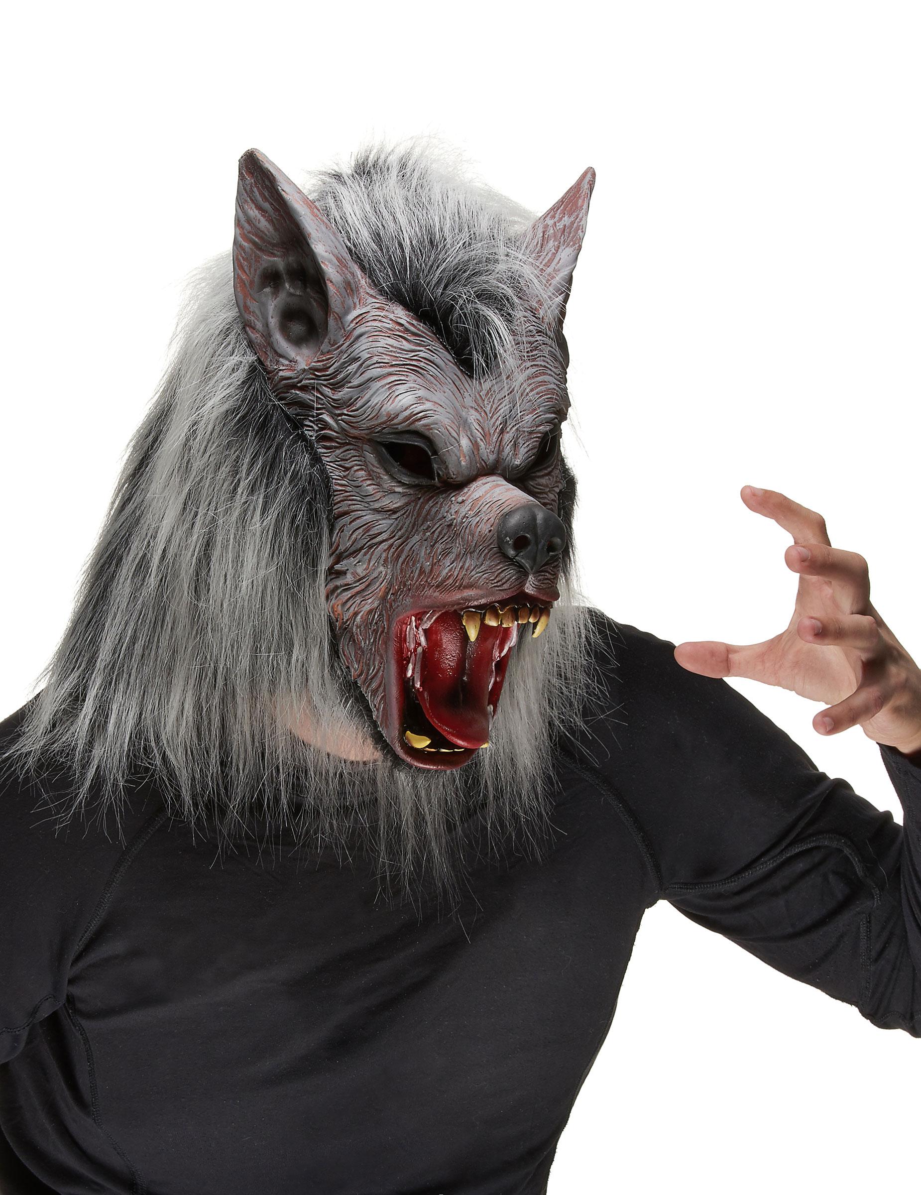 Masque loup garou adulte deguise toi achat de masques - Masque de loup a fabriquer ...