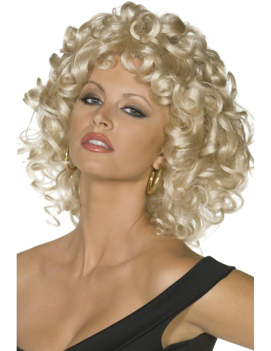 Perruque Grease™ bouclée femme