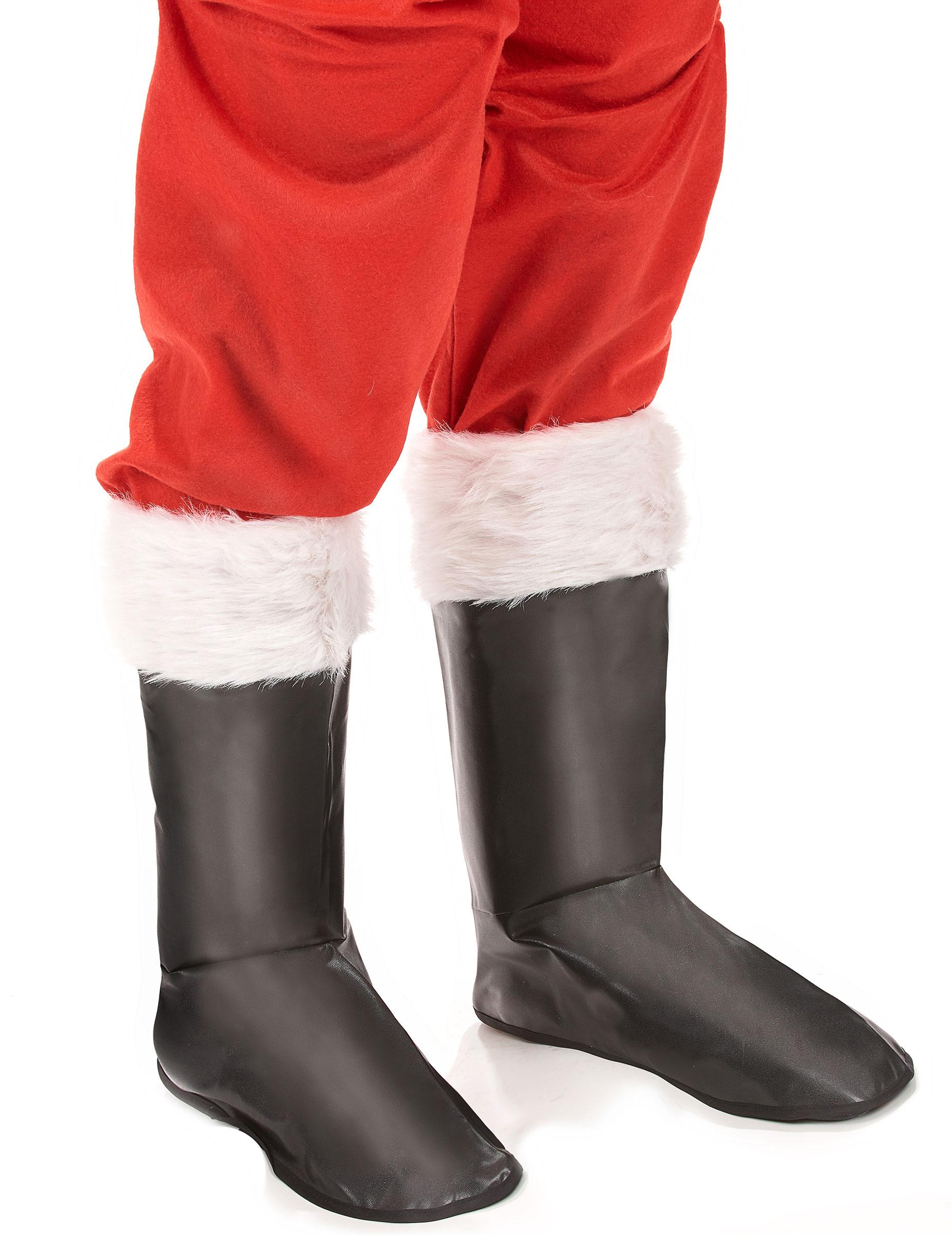 Sur-bottes Père Noel Noir ABuwxuxfc