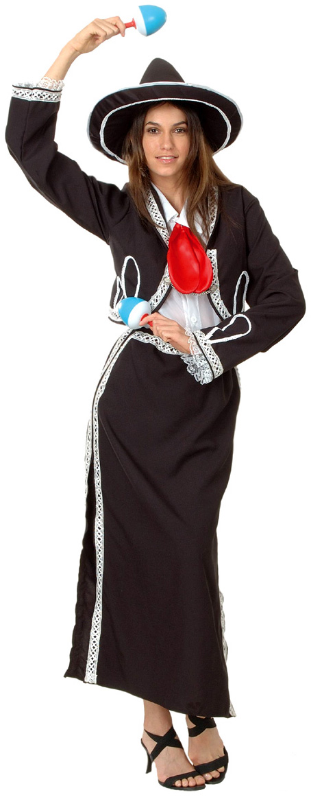 Déguisement Mariachi Mexicain Femme Deguise Toi Achat De Déguisements Adultes