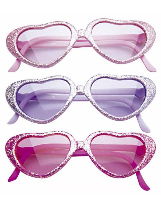 1252a6f73c23f7 Lunettes glamour à paillettes enfant   Deguise-toi, achat de Accessoires