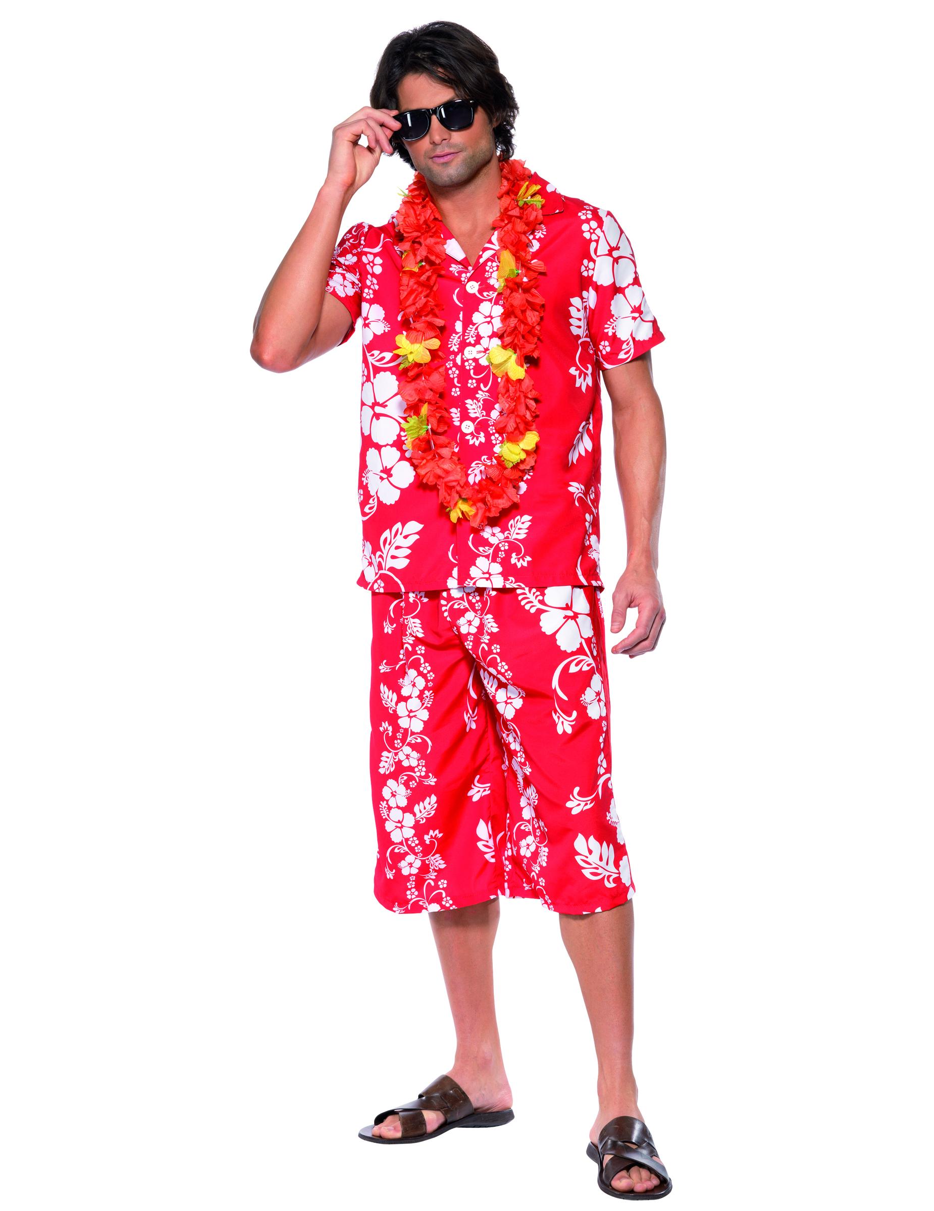 déguisement hawaien homme