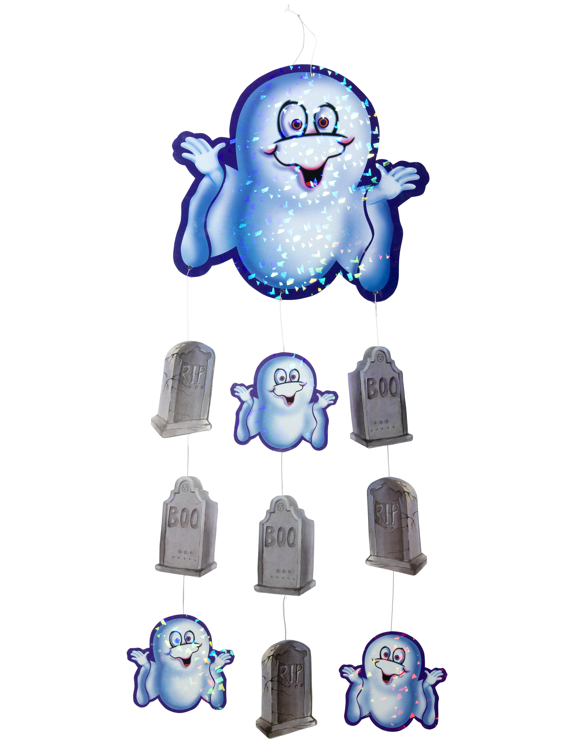 Ghost decoration for Halloween : Decorations, and fancy dress costumes ...