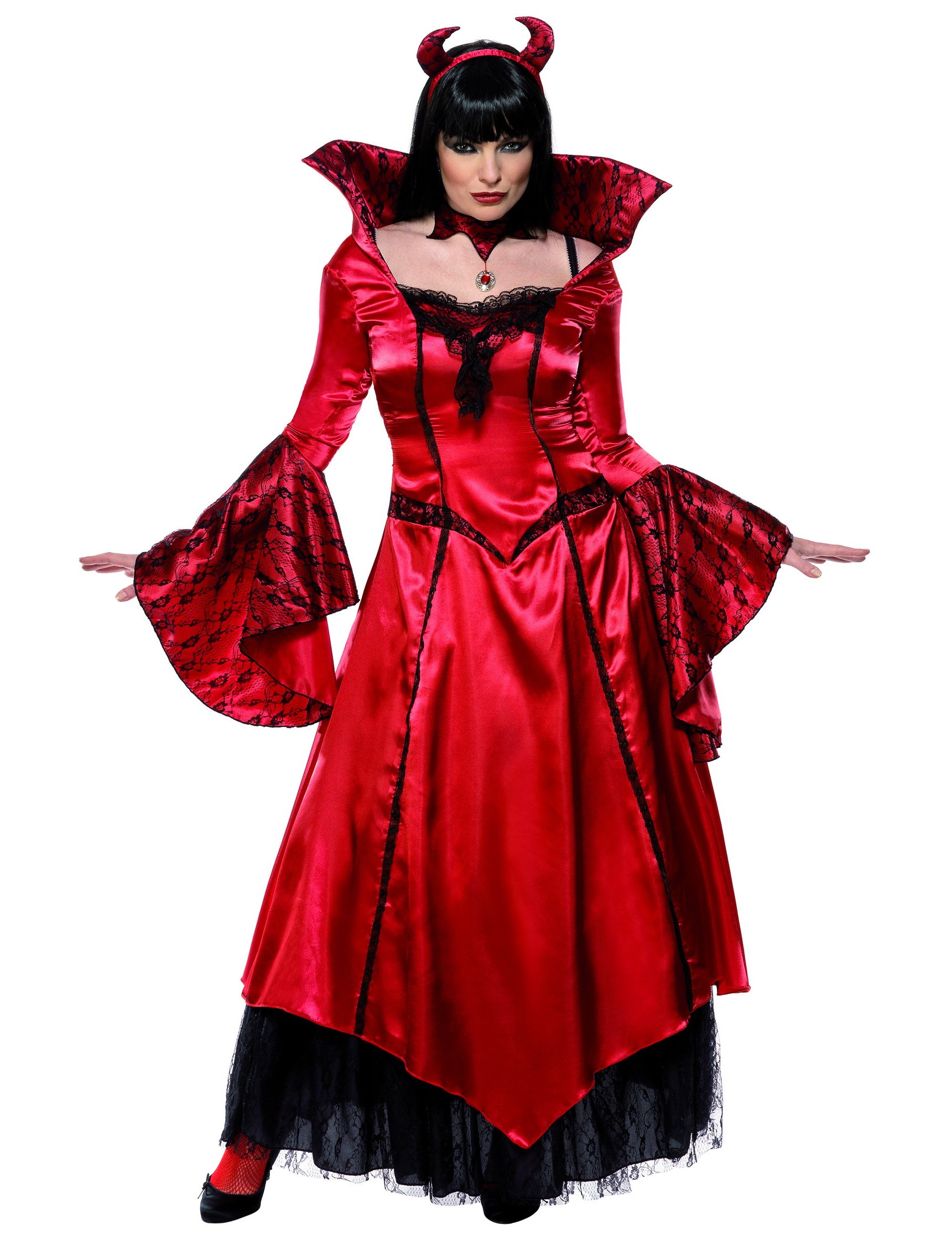 Luxury Halloween Devil Costume For Women