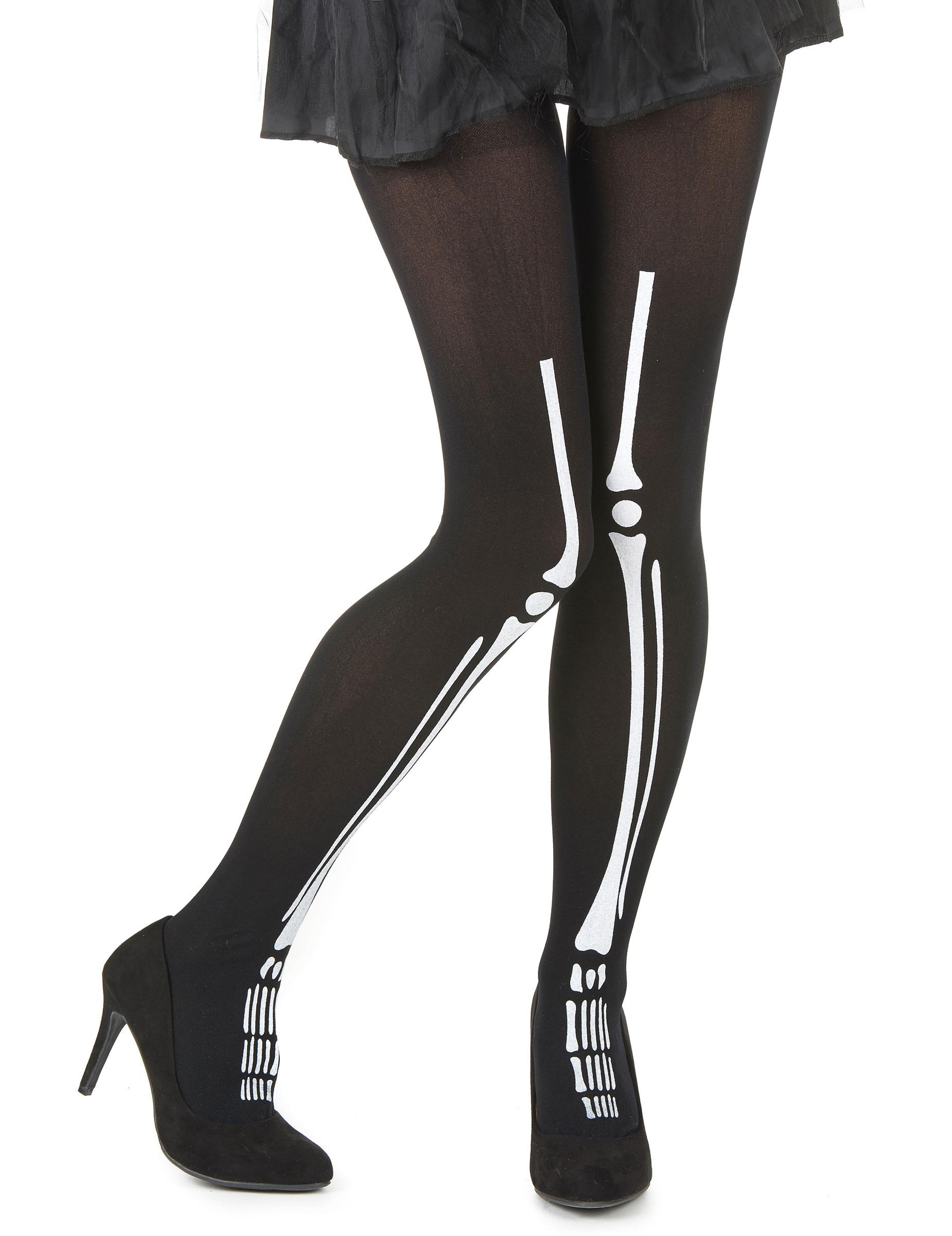 Collant squelette femme Halloween 75cdd572080