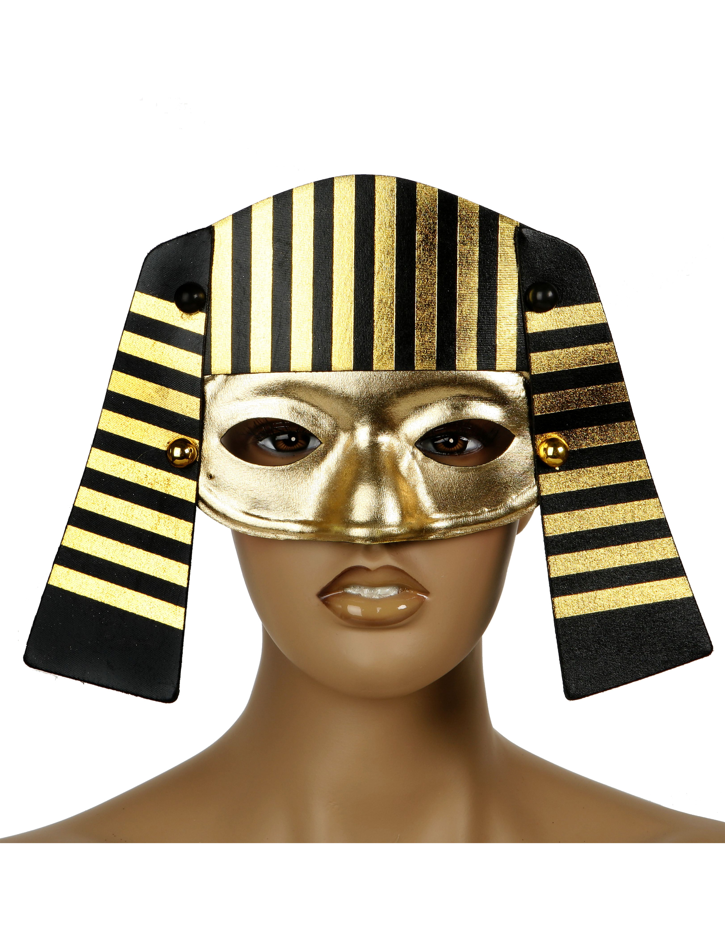 Egyptian eye mask for adults : Masks, and fancy dress costumes