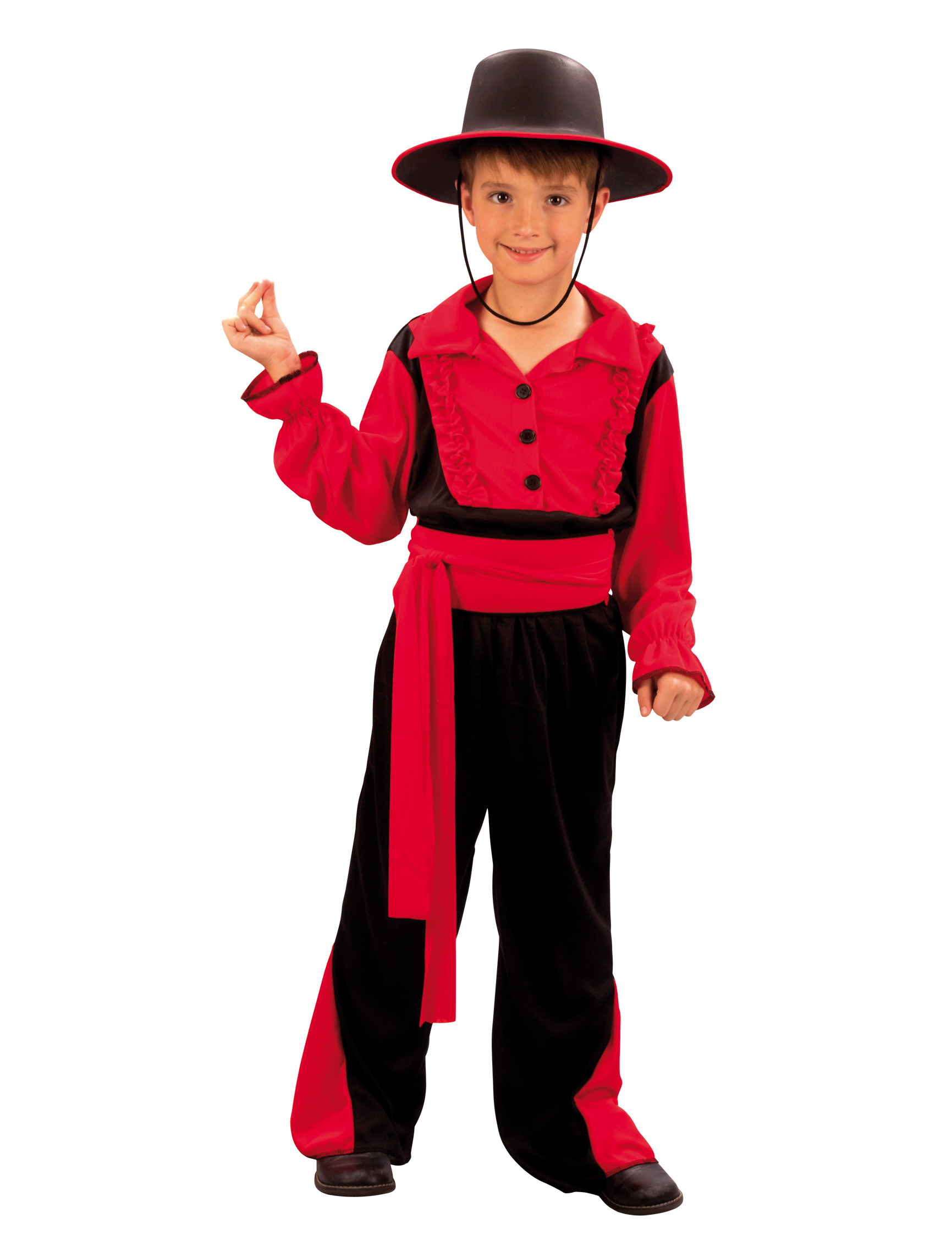 Typical Spanish costume for boys