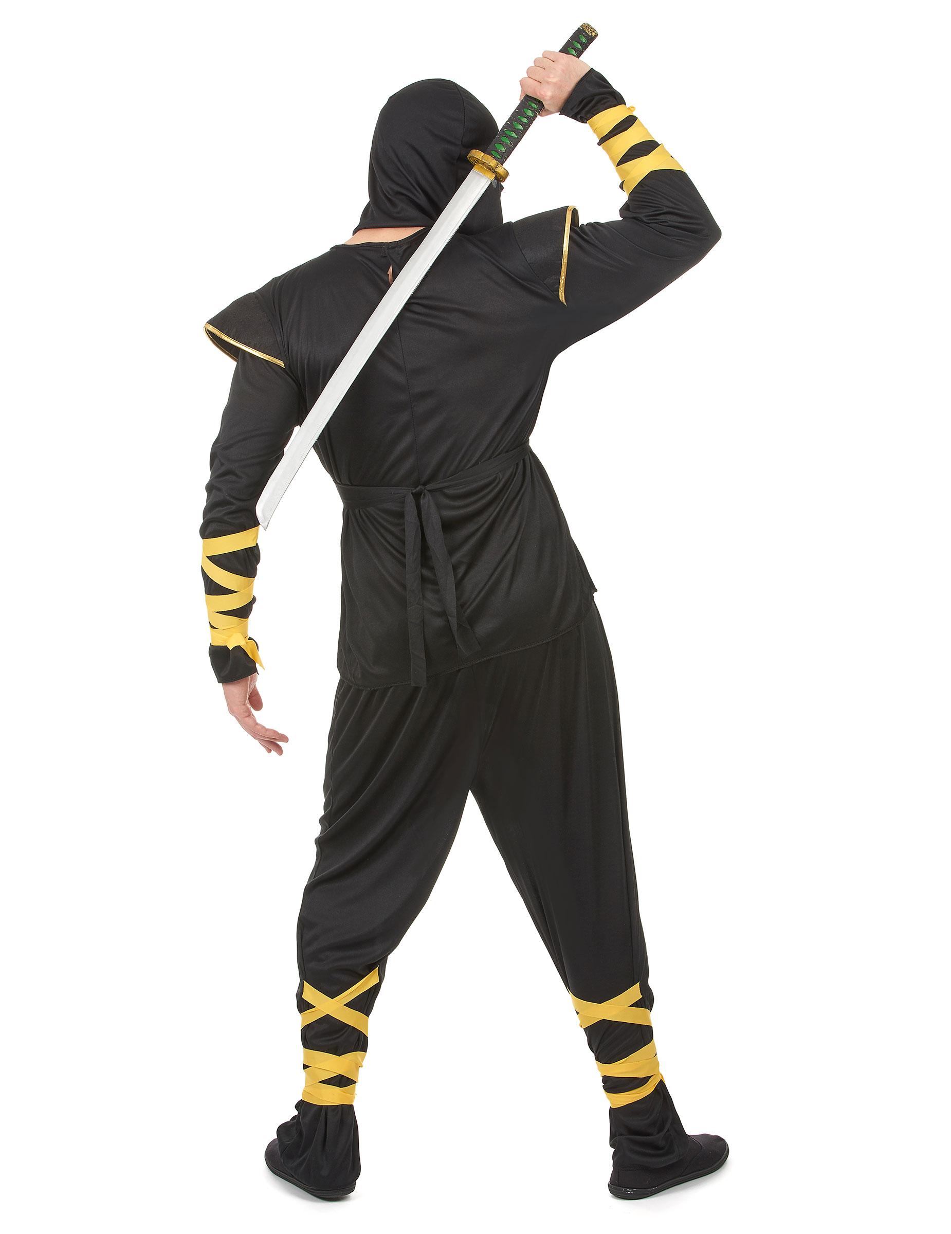 c1d3333012f9d Déguisement ninja dragons dorés homme   Deguise-toi