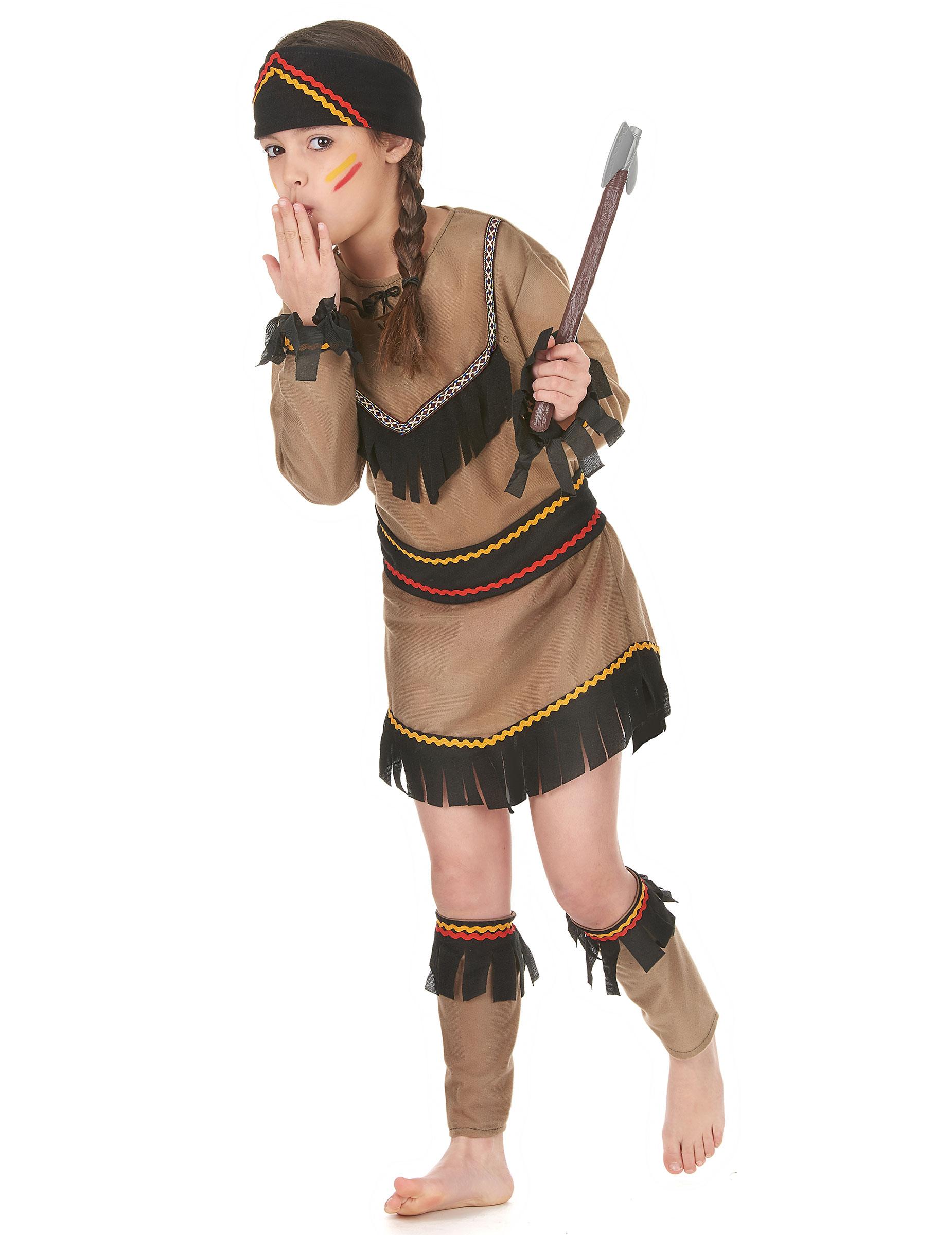Souvent Deguisement indienne fille pour Carnaval - Deguisetoi KT09